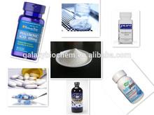 materiale chimico grezzo per salute e bellezza cibo acido ialuronico in polvere