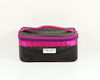 2014 cute classic black/rose cosmetic bag(MJC-1403058)