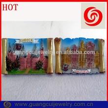 ODM/OEM custom LUBECK & brhssels germany fridge magnet