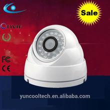 Onvif guard security P2P CMOS megapixel vandal proof outdoor ip camera dome housing
