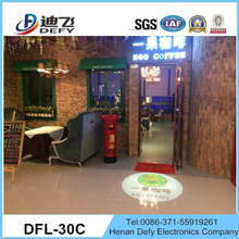 replace Gobo manually 30w led logo projector lamp