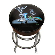 Custom Bar Stool with logo printing on the seat top, Promotional Bar Stools, one of the best promotional items
