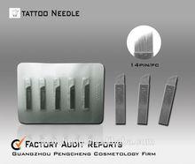 manufacture supplies sterilized tattoo needles(14pins)
