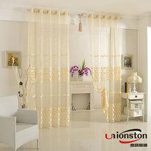 2014 New Design Top Sale Door Window Curtain With Tie Back