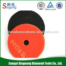 4'' Diamond Hard Granite Stone Polishing Pad (Wet Polishing Pad)