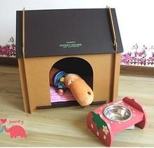 CARDBOARD DOG HOUSE FP104866