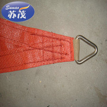 100% polyester fabric net , Red Concave Cut Sun Shade Net,Square Sun Shade Sail ,Plastic Net ,made in china