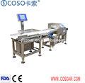 Combo detector de metales y compruebe pesador para procesamiento de alimentos/textil de la industria de plástico