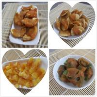 chicken wrap furit pet fruit pet snack pet treat