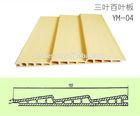 closet sliding door panel/decorative ceiling panel/plastic and wood composite