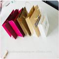 Neve- bianco e semplice sacchetto di carta modello wholesale a shenzhen