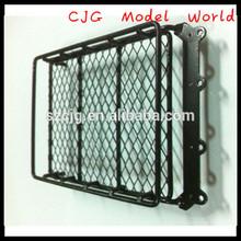 1/10 Scale RC Crawler Body w/ folding Luggage racks+Led Fits SCX10 Land Rover D90