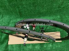carbon wheelset 50 mm tubular bike wheelset with novetec 271-372 hub free shipping