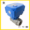 CWX-15Q 1/2'' 3/4'' 1'' motorized 12V 24v ball valve with actuator for water filter systems