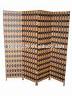 hoe sale100% handmade weave practical cheap paper screen room divider wholesale