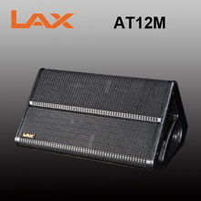 "LAX AT12M outdoor performance monitor / 2-way cabinet/ single 12"" full range monitor speaker"