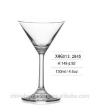 4.5oz Cheap crystal long stem mini Cocktail glass martini glass
