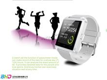 2014 newest digital U watch high quality waterproof bluetooth watch U808