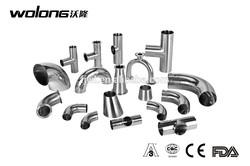 Stainless steel sanitary pipe fittings Tee /elbow/cross