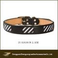 Pu cuoio personalizzato collare grosso cane, fatto a mano collari per cani accessori per animali domestici