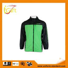 reversible zipper Waterproof Windbreaker Jacket