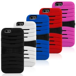 Wholesale tpu pc case for iphone 6,for iphone kickstand case