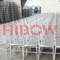 la boda de acrílico silla tiffany
