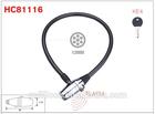 Cable Lock,Bicycle Lock,Alarm Lock HC81116