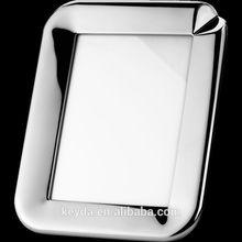 2014 venta caliente de la alta calidad populares marco de fotos de plata