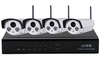 Wireless IP Camera and P2P NVR, H.264 wifi NVR Kit,960P/720P camera NVR system