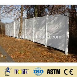AFOL high quality large dog fences, pvc fence