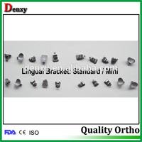 brace teeth high-quality orthodontic lingual brackets