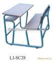 Personalizado escola comercial em sala de aula móveis, o estudo da escola de mesa e banco
