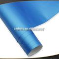 Fosco cristal azul do corpo do carro decoração de vinil adesivo, bubble free vinil filme para envoltório do veículo 1.52*30m