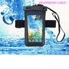 waterproof bag for mobile phone with headphone jack,armband