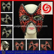 New arrival wholesale leopard print hot sale party mask