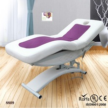 2014 hot wholesale pu leather facial water bed for sale electric spa water bed for sale (KZM-8809)