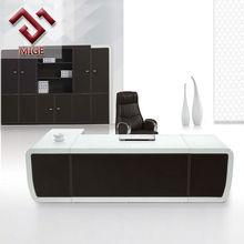 Luxurious Leather L shape Executive Office Desk
