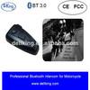 2014 HOT selling wireless bluetooth motorcycle helmet two way radio headset