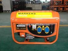 2.5KW aluminum wires gasoline generator 168F-1 4-stroke portable OHV 6.5hp GX200 petrol honda