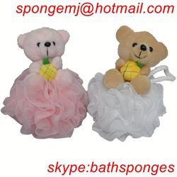 wholesales factory direct hair sponge bun wonder wipe sponge