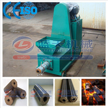 Biomass charcoal briquette extruder machine for wood sawdust