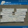 natural de aislamiento térmico a prueba de moho blanco léger de cuarzo de piedra del panel