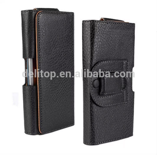 High Quality Waist Wallet Leather Case for Samsung Galaxy S5