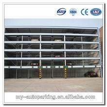 2-6 Levels Multilevel Parking System Car Parking Protect Car Lift Parking Building Car Stack