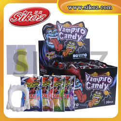 Tongue gummy with teeth toy candy SK-R033
