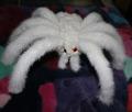 nouveaux produits de fourrure de vison 2014 animés insectes modèle spider et araneid blanc