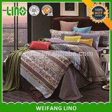 elegant satin staple cotton bed sheeting