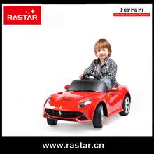 Rastar Ferrari licensed Hot selling Licensed 12V children electronic toy car