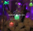 wedding hanging glass candle lanterns ZT-202